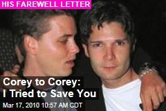 Corey to Corey: I Tried to Save You