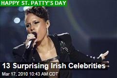 13 Surprising Irish Celebrities