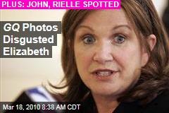 GQ Photos Disgusted Elizabeth