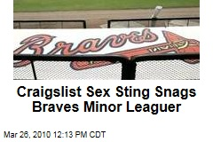 Craigslist Sex Sting Snags Braves Minor Leaguer
