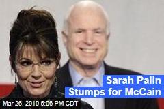 Sarah Palin Stumps for McCain