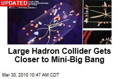 Large Hadron Collider Gets Closer to Mini-Big Bang