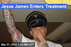 Jesse James Enters Treatment