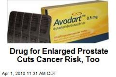 Drug for Enlarged Prostate Cuts Cancer Risk, Too