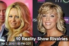 10 Reality Show Rivalries