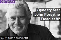 Dynasty Star John Forsythe Dead at 92