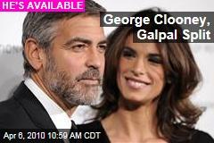 George Clooney, Galpal Split