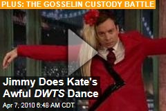 Jimmy Does Kate's Awful DWTS Dance