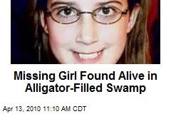 Missing Girl Found Alive in Alligator-Filled Swamp