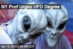 NY Prof Urges UFO Degree