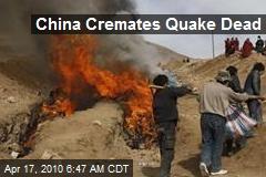China Cremates Quake Dead