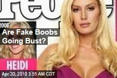 Are Fake Boobs Going Bust?