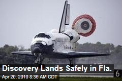 Discovery Lands Safely in Fla.