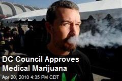 DC Council Approves Medical Marijuana