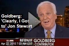 Goldberg: 'Clearly, I Got to' Jon Stewart
