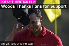 Tiger Woods Surprised, Gratified by Fans' Reaction - Tiger Woods : People.com