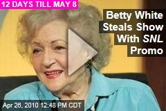 Betty White Steals Show With SNL Promo
