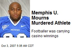 Memphis U. Mourns Murdered Athlete