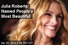 Sneak Peek: World's Most Beautiful 2010! - JULIA ROBERTS - Most Beautiful
