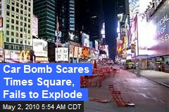 Car Bomb Scares Times Square, Fails to Explode