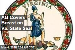AG Covers Up Breast on Virginia State Seal