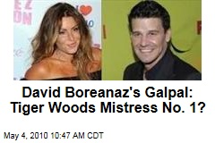 EXCLUSIVE: David Boreanaz's FIRST Affair Was With Tiger Woods' Mistress! | RadarOnline.com
