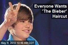 Everyone Wants 'The Bieber' Haircut