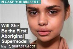 Vogue Goes Aboriginal