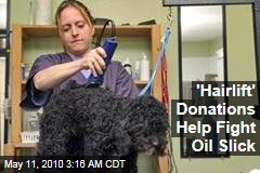'Hairlift' Donations Help Fight Oil Slick
