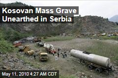 Kosovan Mass Grave Unearthed in Serbia