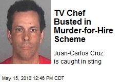 TV Chef Busted in Murder-for-Hire Scheme