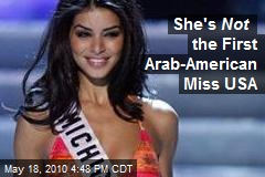 She's Not the First Arab-American Miss USA