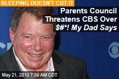 Parents Council Threatens CBS Over $#*! My Dad Says