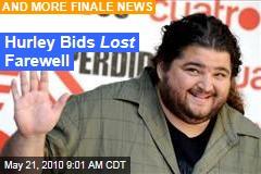 Hurley Bids Lost Farewell