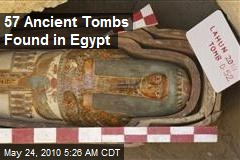 57 Ancient Tombs Found in Egypt