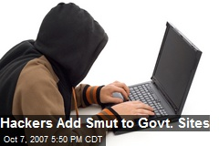 Hackers Add Smut to Govt. Sites