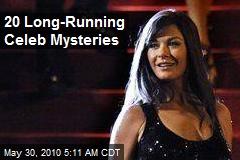 20 Long-Running Celeb Mysteries