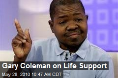 Gary Coleman on Life Support