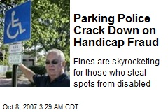 Parking Police Crack Down on Handicap Fraud