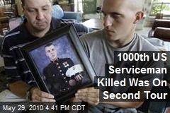 1000th US Casualty Went Back After Nearly Losing Leg