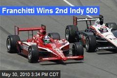 Franchitti Wins 2nd Indy 500