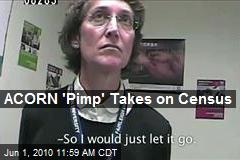 ACORN 'Pimp' Takes on Census