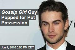Gossip Girl Guy Popped for Pot Possession