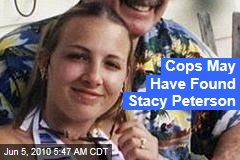 Cops May Have Found Stacy Peterson