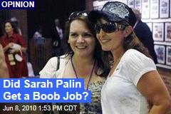 Did Sarah Palin Get a Boob Job?