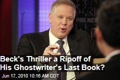 Who authored Glenn Becks new novel?