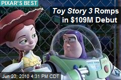 Toy Story 3 Romps in $109M Debut