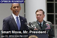 Smart Move, Mr. President