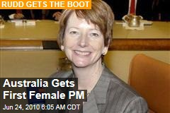 Australia Gets First Female PM