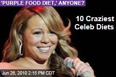 10 Craziest Celeb Diets